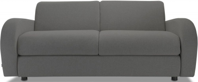 Jay-Be Retro Deep Sprung Mattress 3 Seater Sofa Bed - Slate Fabric