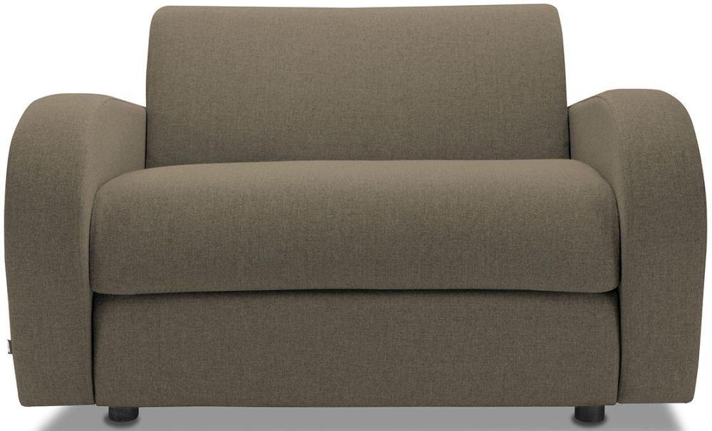 Jay-Be Retro Bark Sofa Bed Chair With Deep Sprung Mattress