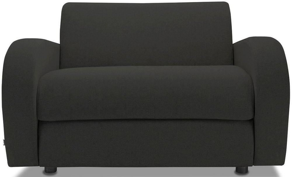 Jay-Be Retro Charcoal Sofa Bed Chair With Deep Sprung Mattress