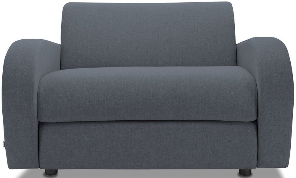 Jay-Be Retro Denim Sofa Bed Chair With Deep Sprung Mattress