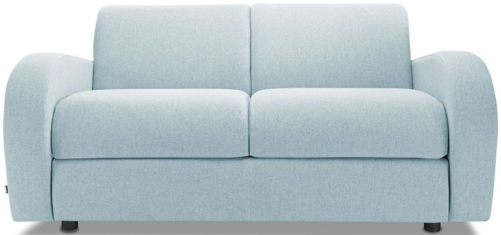 Jay-Be Retro Duck Egg 2 Seater Sofa Bed with Deep Sprung Mattress