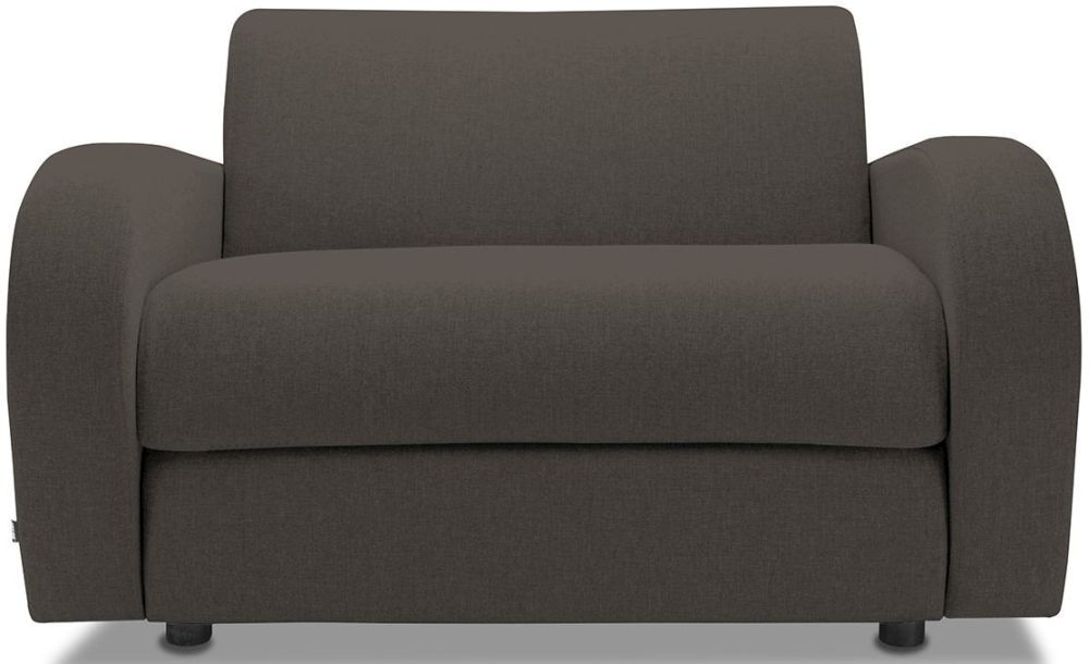 Jay-Be Retro Mocha Sofa Bed Chair With Deep Sprung Mattress