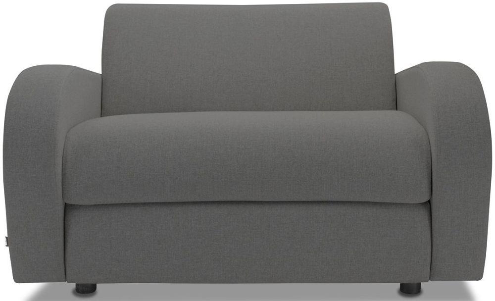 Jay-Be Retro Deep Sprung Mattress Chair Sofa Bed - Slate Fabric