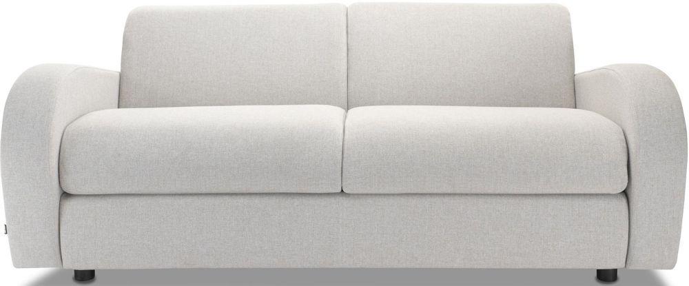 Jay-Be Retro Deep Sprung Mattress 3 Seater Sofa Bed - Stone Fabric
