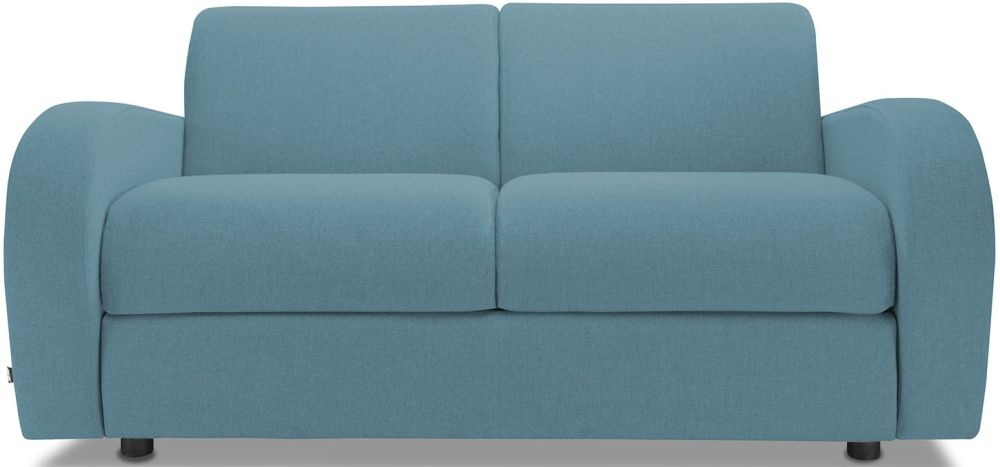 Jay-Be Retro Teal 2 Seater Sofa Bed with Deep Sprung Mattress
