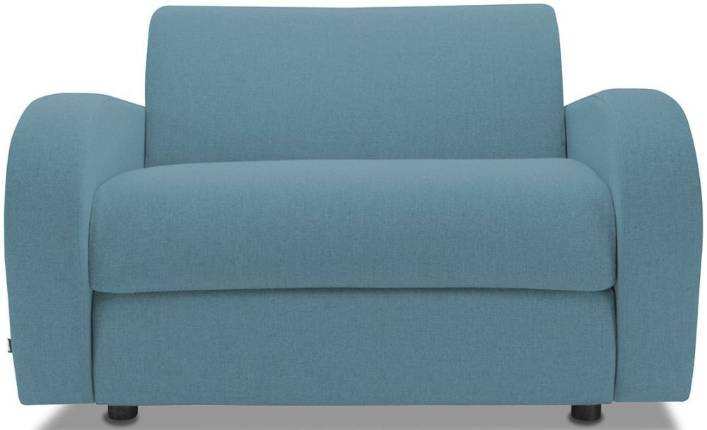 Jay-Be Retro Teal Sofa Bed Chair With Deep Sprung Mattress