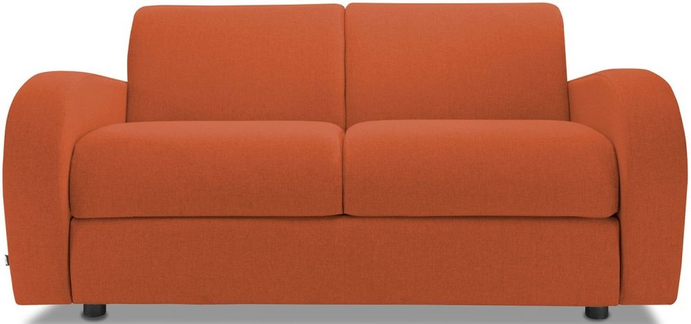 Jay-Be Retro Terracotta 2 Seater Sofa Bed with Deep Sprung Mattress