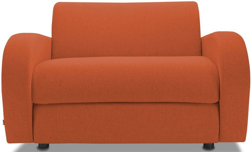 Jay-Be Retro Terracotta Sofa Bed Chair With Deep Sprung Mattress