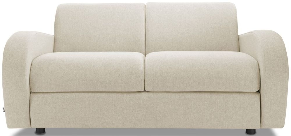 Jay-Be Retro Wheat 2 Seater Sofa Bed with Deep Sprung Mattress