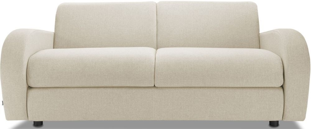 Jay-Be Retro Wheat 3 Seater Sofa Bed with Deep Sprung Mattress