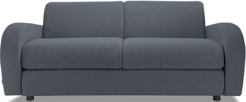 Jay-Be Retro Deep Sprung Mattress 3 Seater Sofa Bed - Denim Fabric