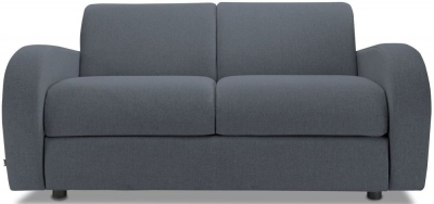 Jay-Be Retro Luxury Reflex Foam 2 Seater Sofa - Denim Fabric