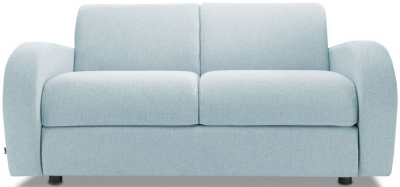 Jay-Be Retro Luxury Reflex Foam 2 Seater Sofa - Duck Egg Fabric