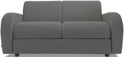 Jay-Be Retro Luxury Reflex Foam 2 Seater Sofa - Slate Fabric