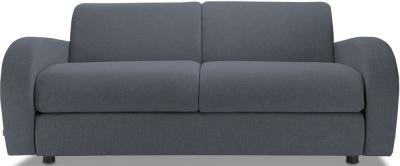 Jay-Be Retro Luxury Reflex Foam 3 Seater Sofa - Denim Fabric