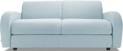 Jay-Be Retro Luxury Reflex Foam 3 Seater Sofa - Duck Egg Fabric