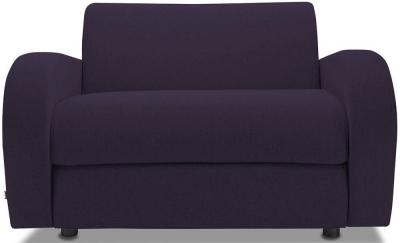 Jay-Be Retro Luxury Reflex Foam Chair - Aubergine Fabric