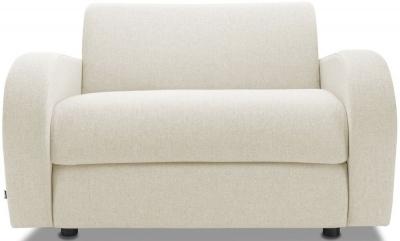 Jay-Be Retro Luxury Reflex Foam Chair - Cream Fabric