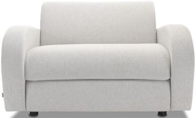 Jay-Be Retro Luxury Reflex Foam Chair - Stone Fabric