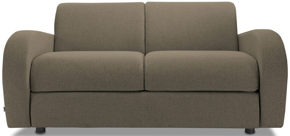 Jay-Be Retro Bark 2 Seater Sofa with Luxury Reflex Foam Seat Cushions