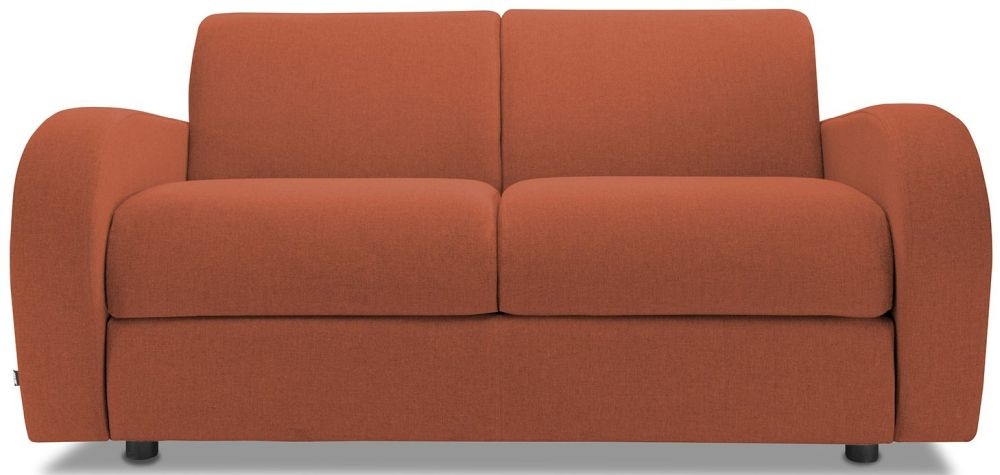 Jay-Be Retro Copper 2 Seater Sofa with Luxury Reflex Foam Seat Cushions