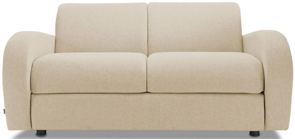 Jay-Be Retro Gold 2 Seater Sofa with Luxury Reflex Foam Seat Cushions