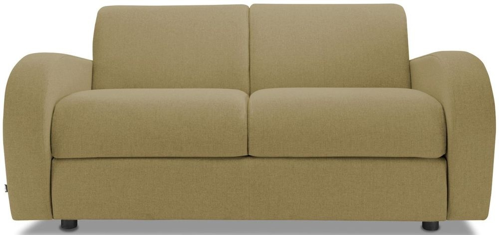 Jay-Be Retro Olive 2 Seater Sofa with Luxury Reflex Foam Seat Cushions