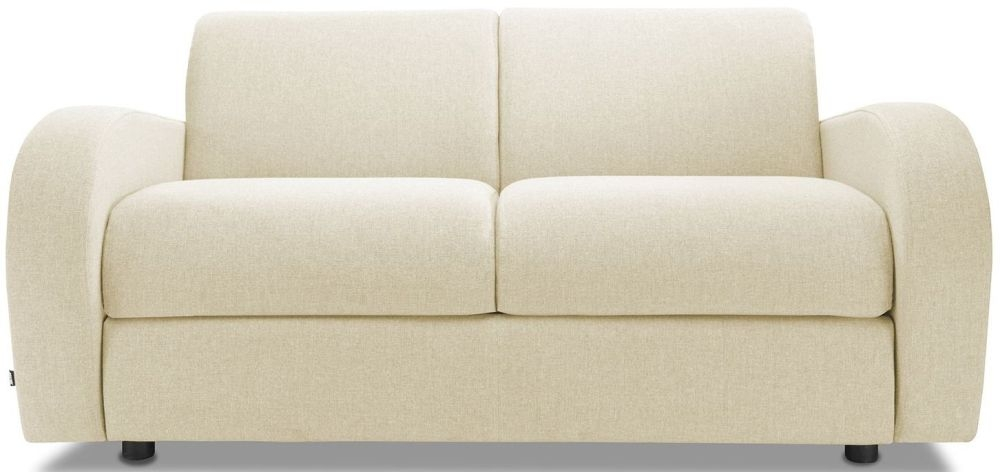 Jay-Be Retro Sand 2 Seater Sofa with Luxury Reflex Foam Seat Cushions