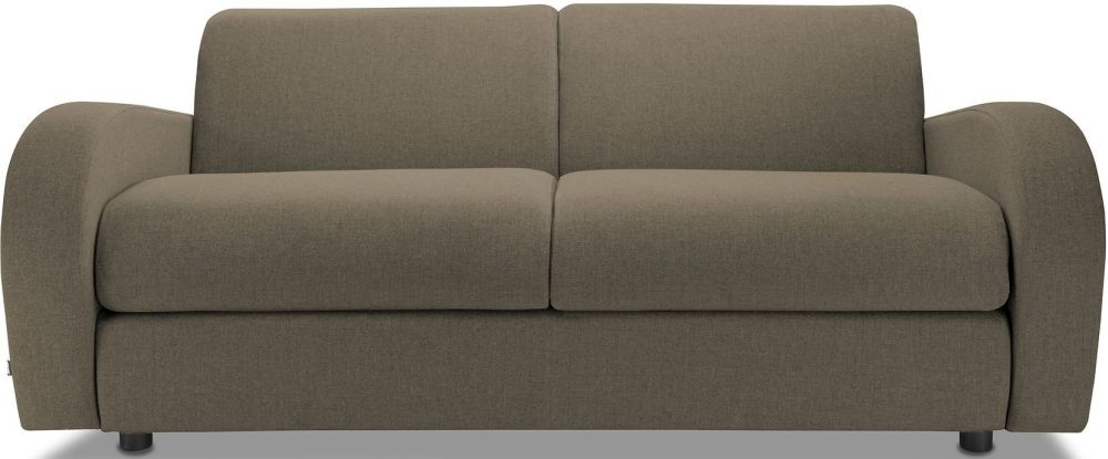 Jay-Be Retro Bark 3 Seater Sofa with Luxury Reflex Foam Seat Cushions