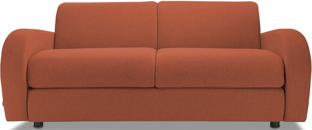 Jay-Be Retro Copper 3 Seater Sofa with Luxury Reflex Foam Seat Cushions