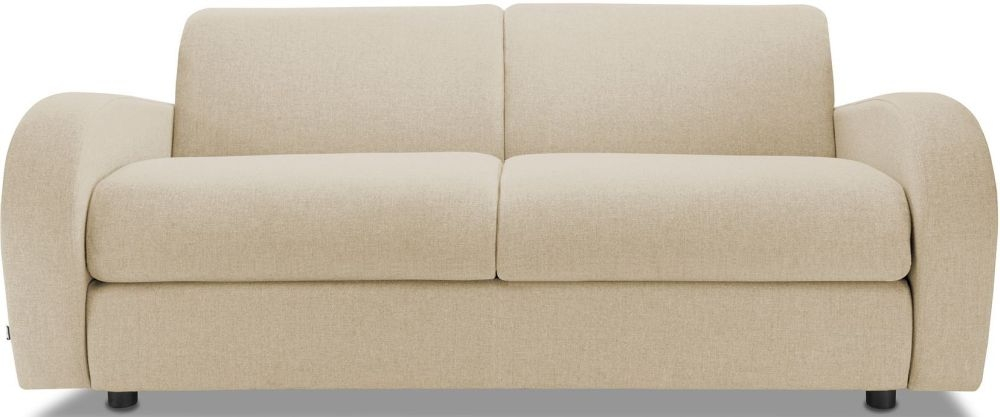 Jay-Be Retro Gold 3 Seater Sofa with Luxury Reflex Foam Seat Cushions
