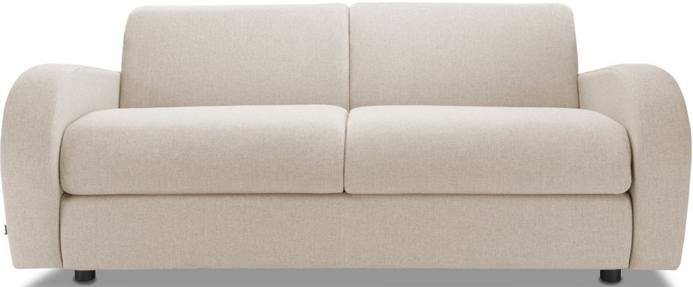 Jay-Be Retro Mink 3 Seater Sofa with Luxury Reflex Foam Seat Cushions