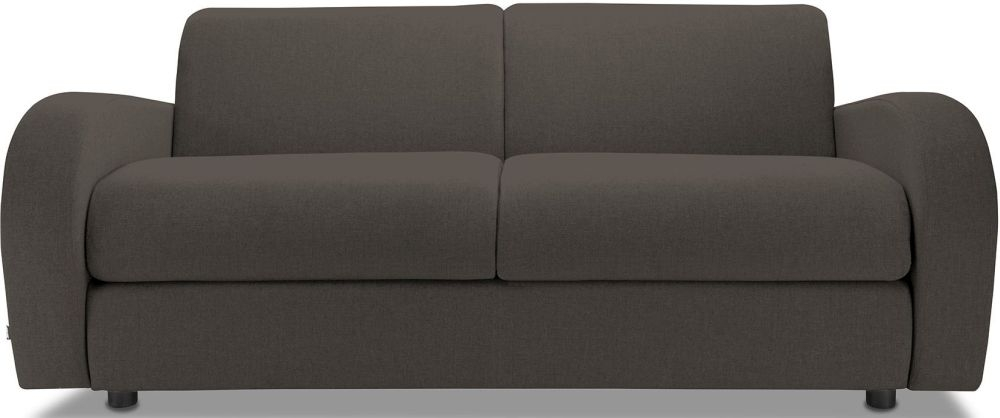 Jay-Be Retro Mocha 3 Seater Sofa with Luxury Reflex Foam Seat Cushions