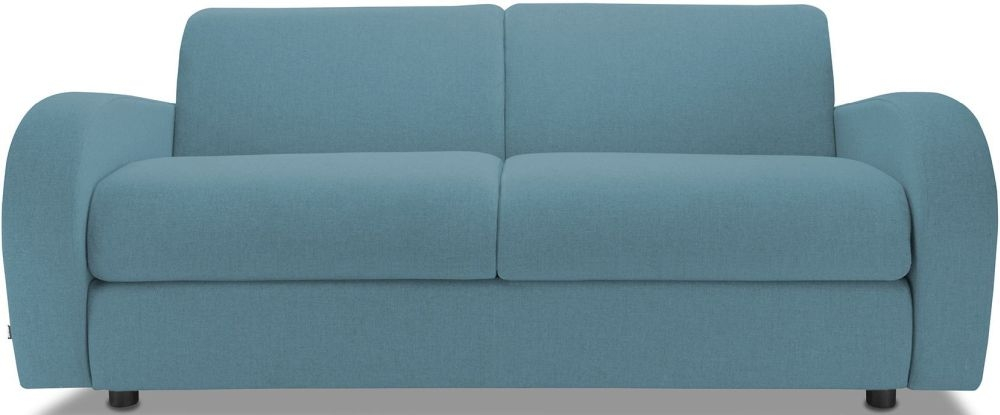 Jay-Be Retro Teal 3 Seater Sofa with Luxury Reflex Foam Seat Cushions