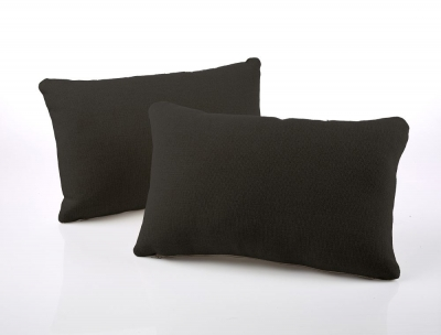 Jay-Be Rectangular Charcoal Scatter Cushion (Pair)