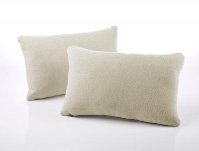 Jay-Be Rectangular Cream Scatter Cushion (Pair)