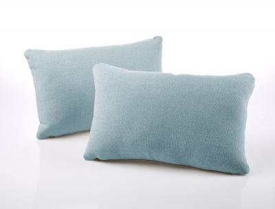 Jay-Be Rectangular Duck Egg Scatter Cushion (Pair)