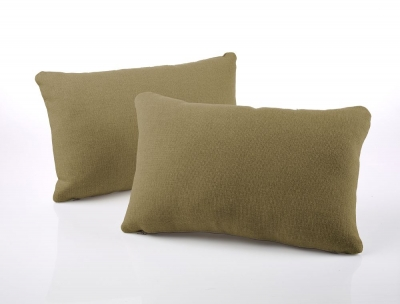 Jay-Be Rectangular Olive Scatter Cushion (Pair)