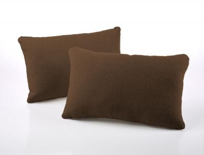 Jay-Be Rectangular Tan Scatter Cushion (Pair)