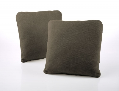 Jay-Be Square Bark Scatter Cushion (Pair)