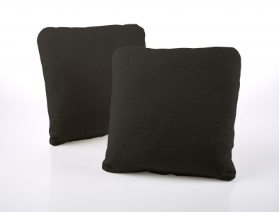 Jay-Be Square Charcoal Scatter Cushion (Pair)