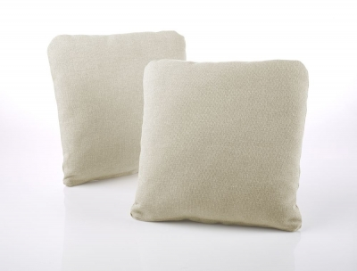 Jay-Be Square Cream Scatter Cushion (Pair)