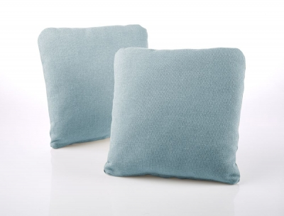 Jay-Be Square Duck Egg Scatter Cushion (Pair)