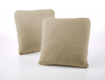 Jay-Be Square Gold Scatter Cushion (Pair)