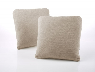 Jay-Be Square Mink Scatter Cushion (Pair)