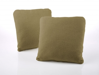Jay-Be Square Olive Scatter Cushion (Pair)