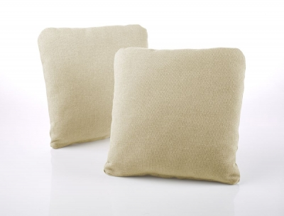 Jay-Be Square Sand Scatter Cushion (Pair)