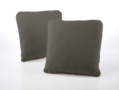 Jay-Be Square Slate Scatter Cushion (Pair)