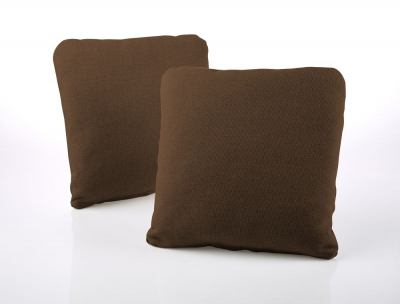 Jay-Be Square Tan Scatter Cushion (Pair)