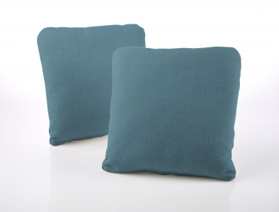 Jay-Be Square Teal Scatter Cushion (Pair)